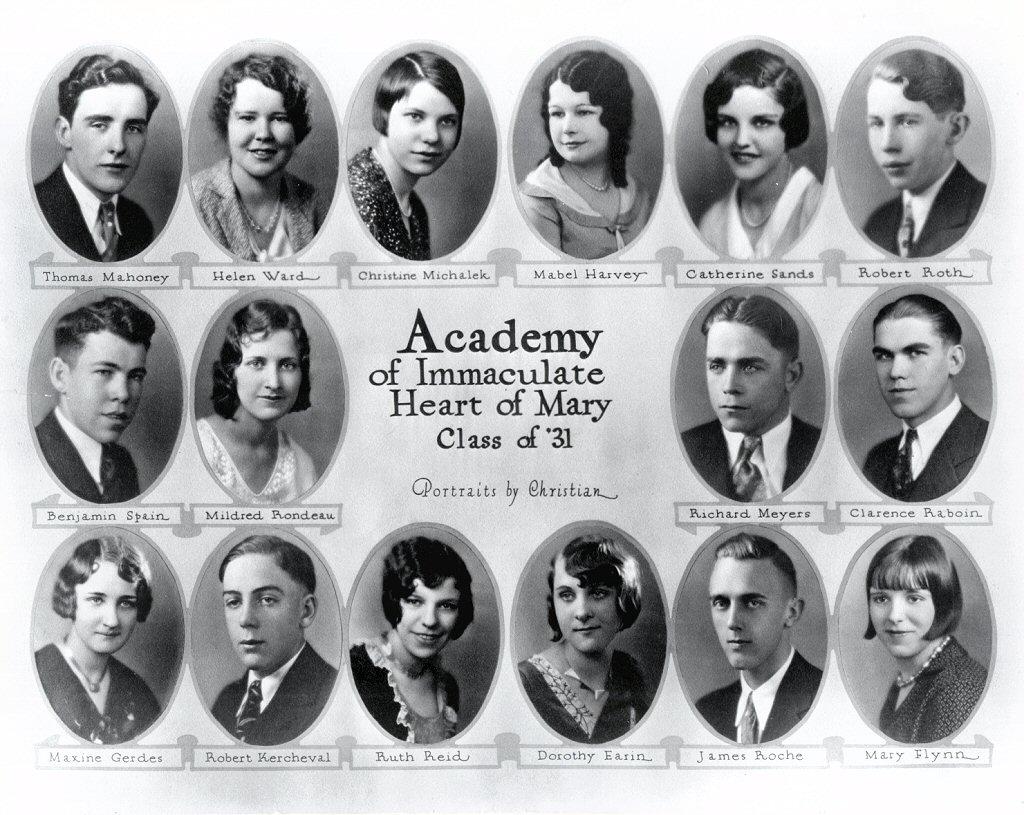 1931 · Class of 1931