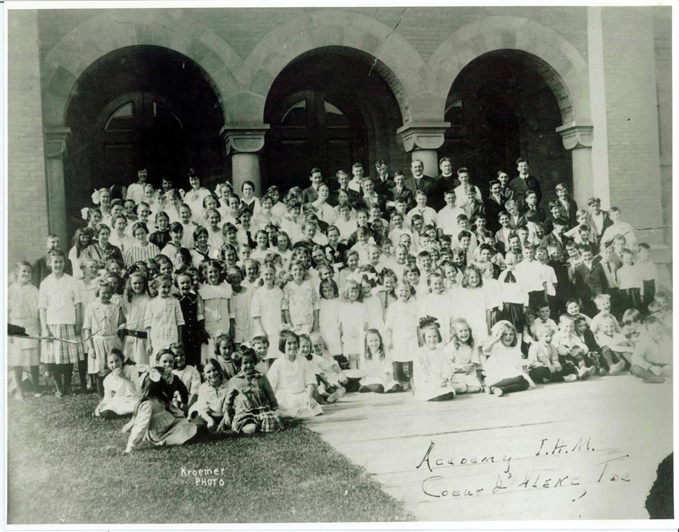 Academy students, circa 1916